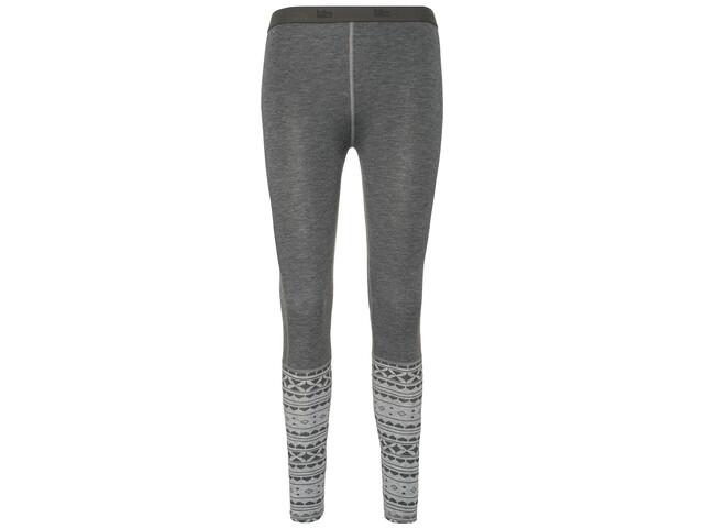 Varg Idre Baselayer Leggingsit Naiset, grey mix